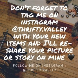 FOLLOW ME ON INSTAGRAM @thrifty.valley